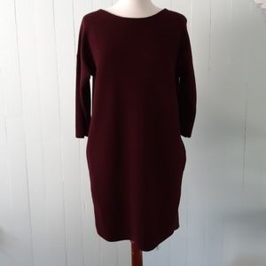 Vince maroon dress